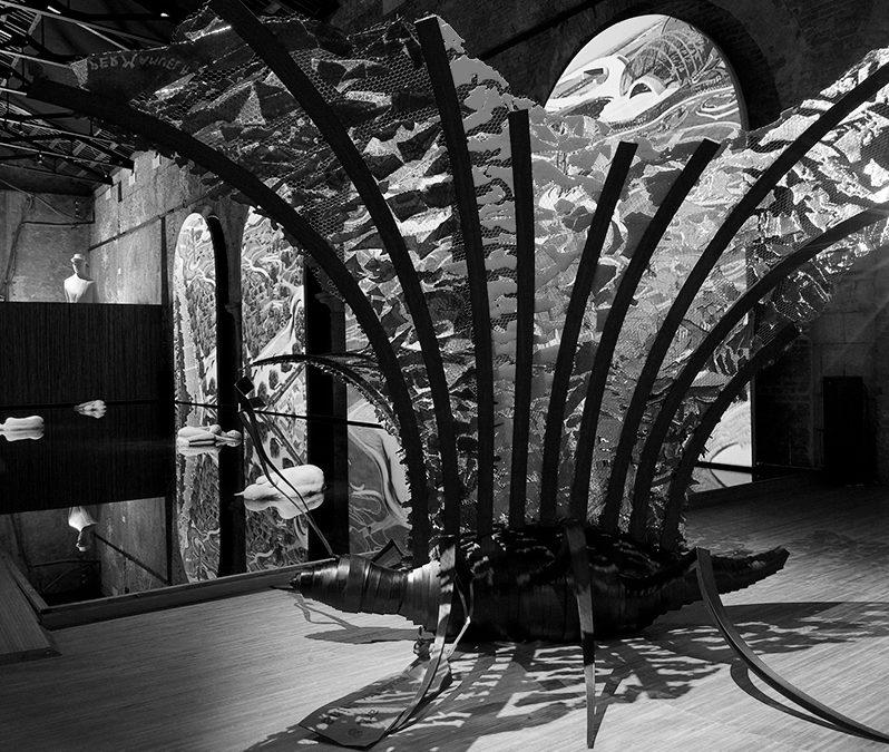 Farfalla per la Biennale di Venezia