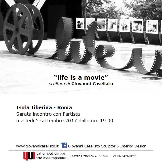 LIFE IS A MOVIE invito EDIEUROPA